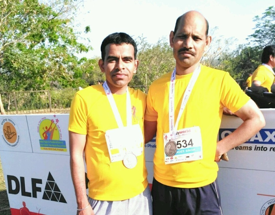Healthy Lifestyle habits leading to a successful Marathon!