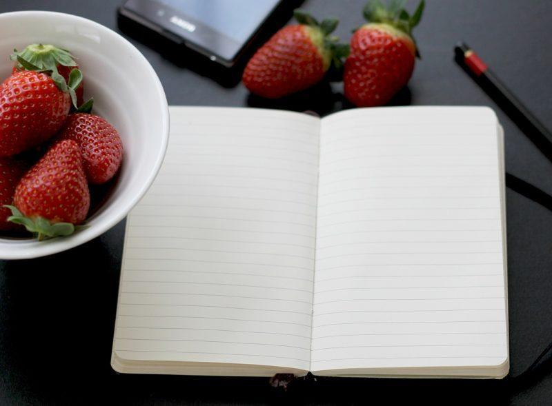 How to write a Food Journal properly