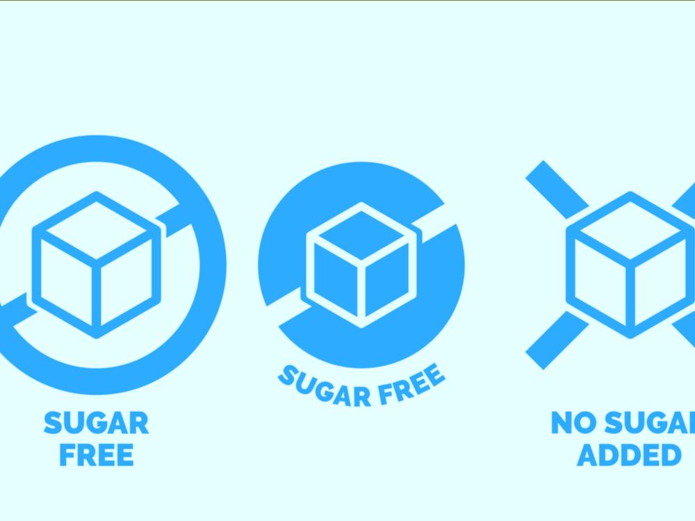 sugar free unsweetened