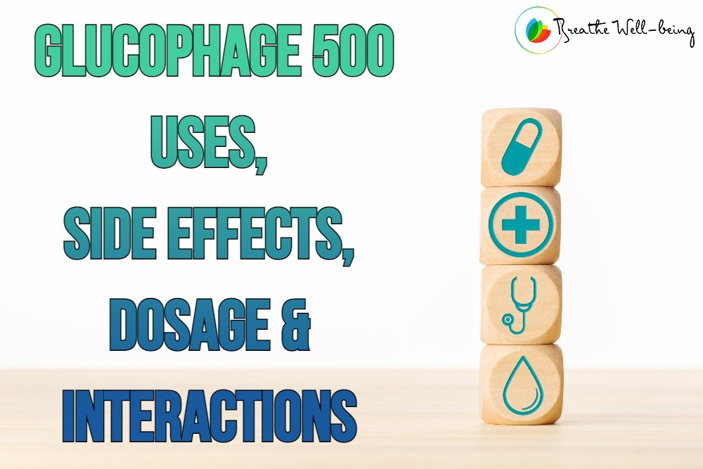 Glucophage 500 MG Tablets to Control Your Blood Sugar Level
